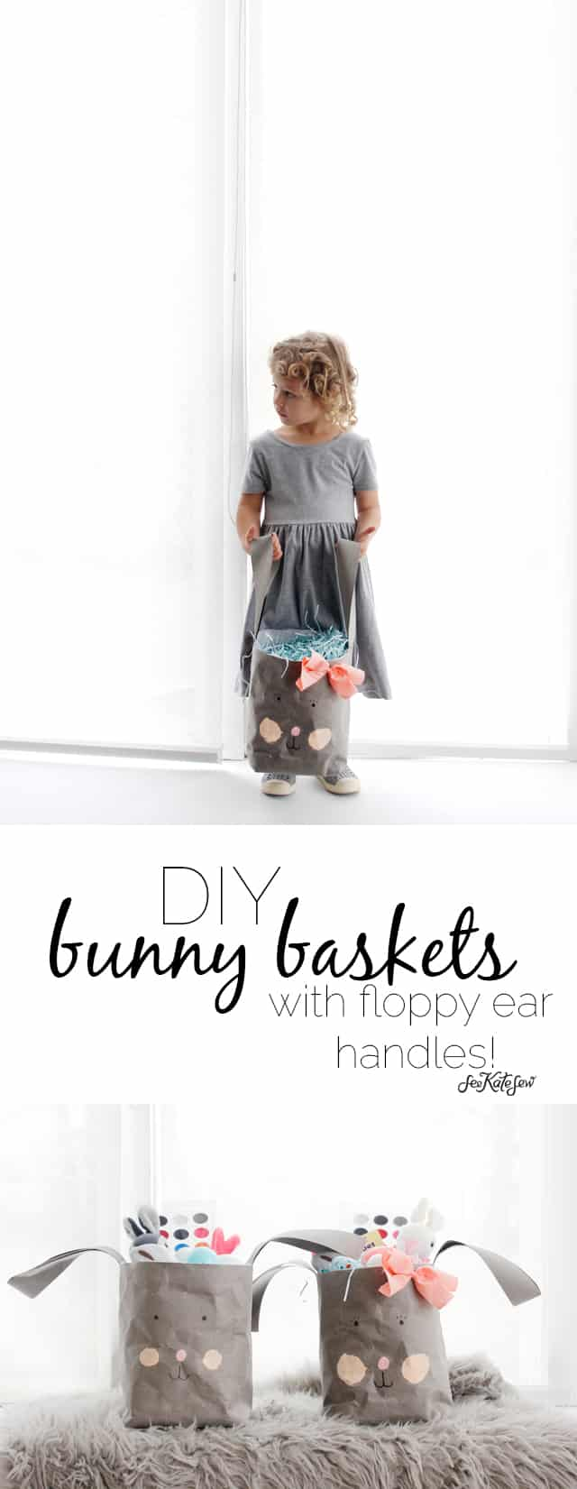 DIY Bunny Basket | See Kate Sew
