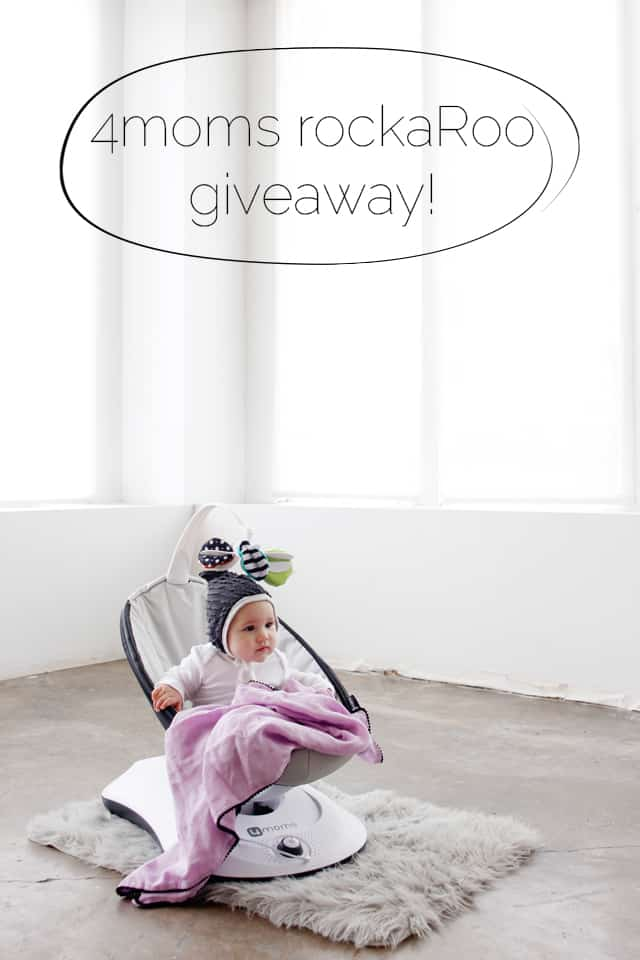 4moms rockaRoo Giveaway! | See Kate Sew