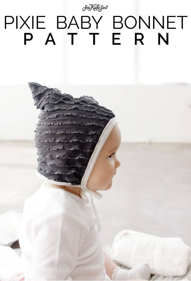 Pixie Baby Bonnet Pattern|See Kate Sew