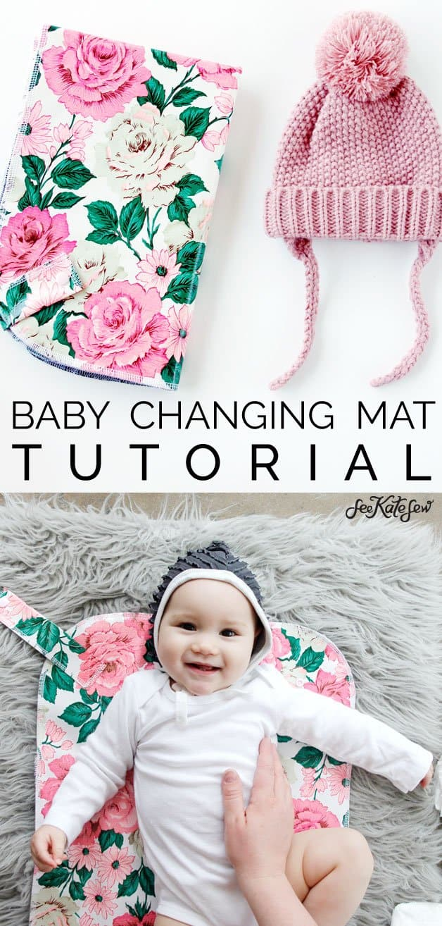 DIY Baby Changing Mat Tutorial | See Kate Sew