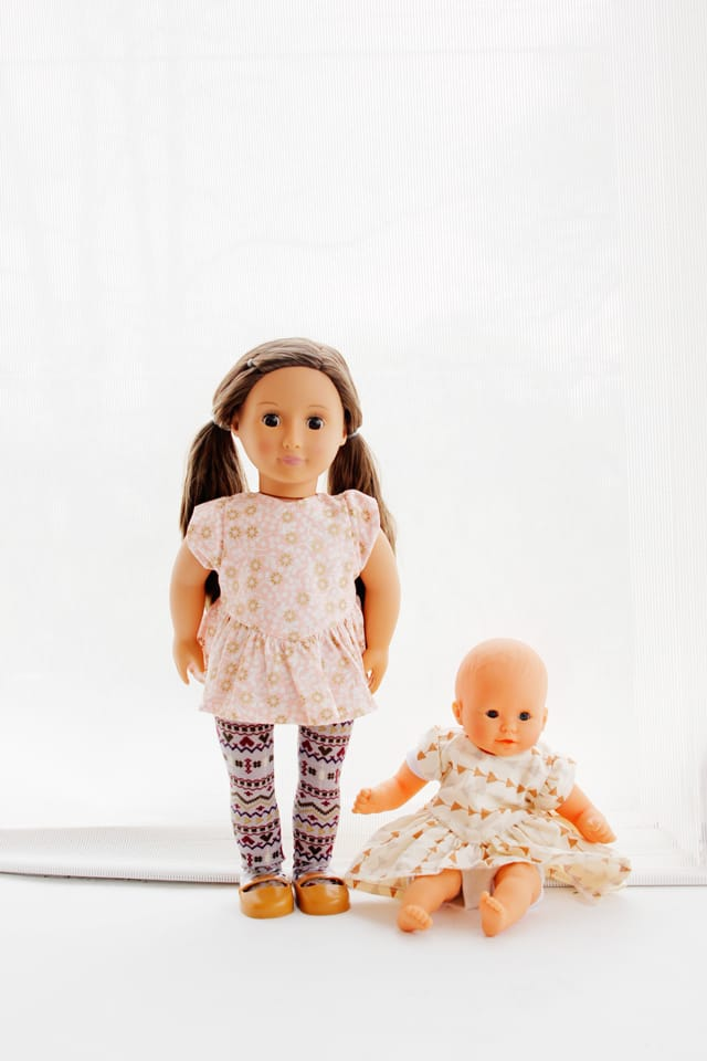 """18"""" Doll Sewing Pattern   See Kate Sew"""