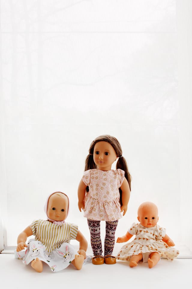 "18"" Doll Sewing Pattern 