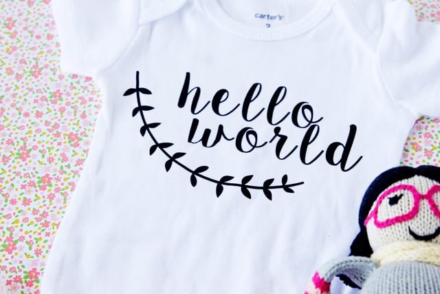 Hello World Oneside Tutorial with Silhouette Download | See Kate Sew