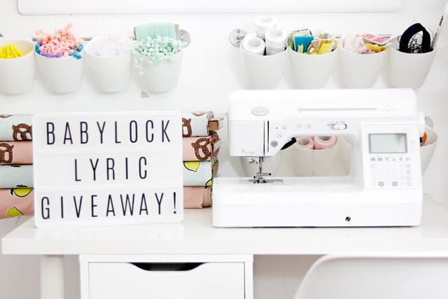 $2500 BabyLock Lyric + Thread Pack Giveaway | See Kate Sew