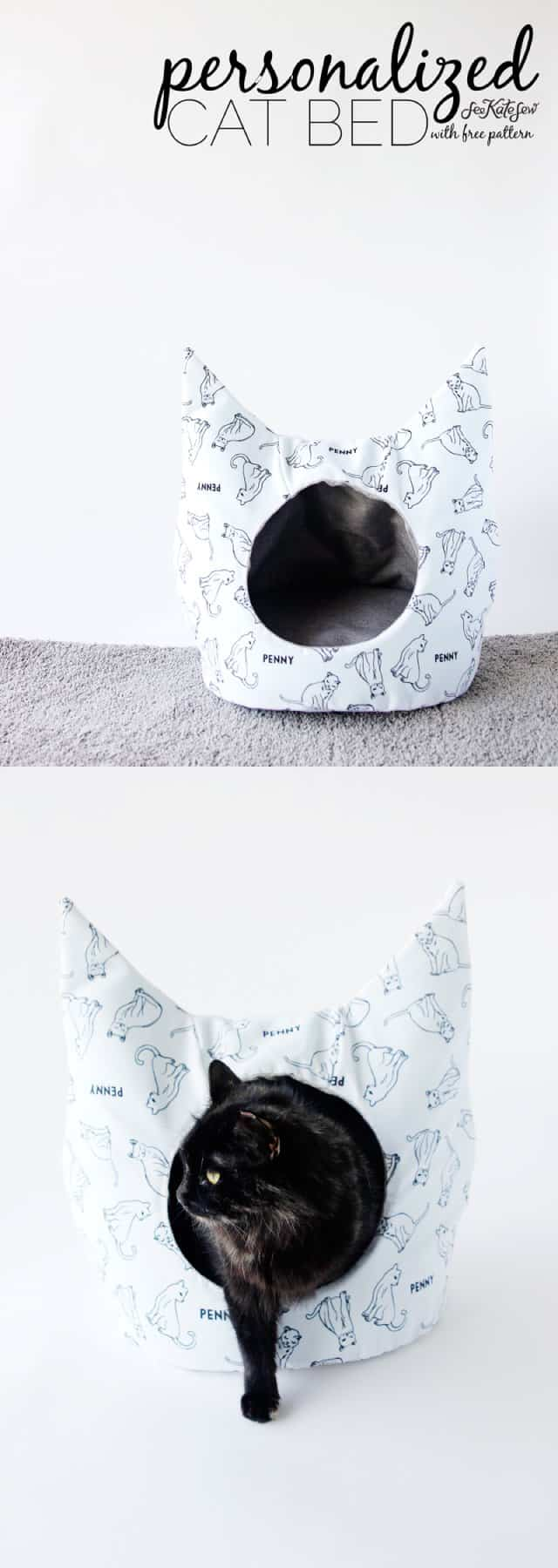 Personalized Cat Bed Joann