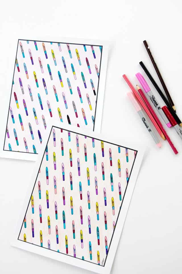FREE Sewing Coloring Pages | coloring page printables | free coloring pages | diy coloring page | free printables || See Kate Sew #coloringpages #adultcoloring #freecoloringpages