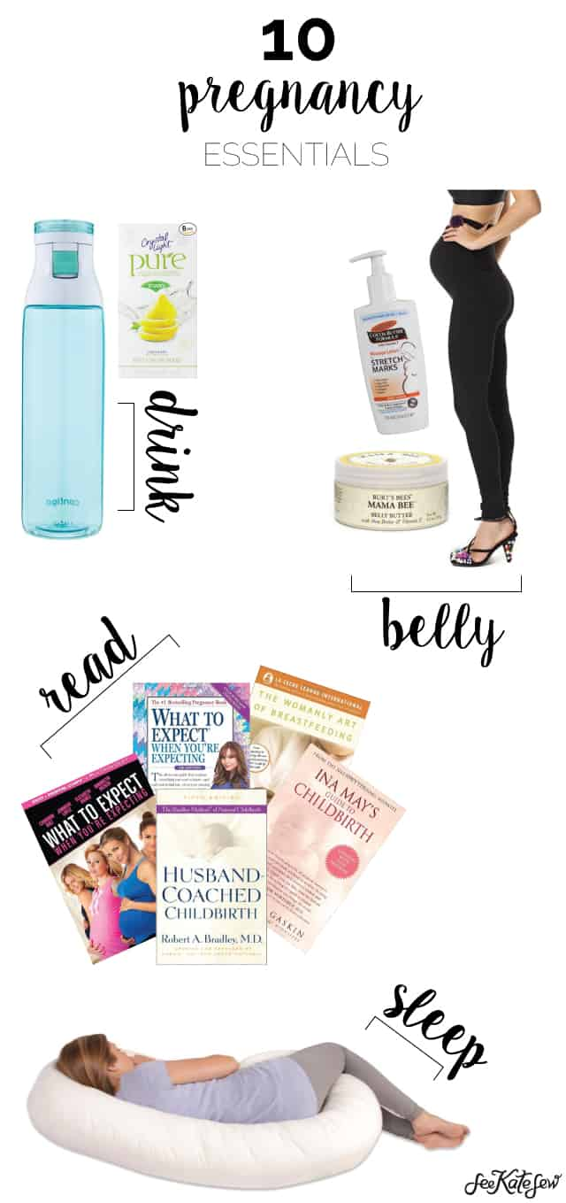 10 Pregnancy Essentials for All 3 Trimesters!
