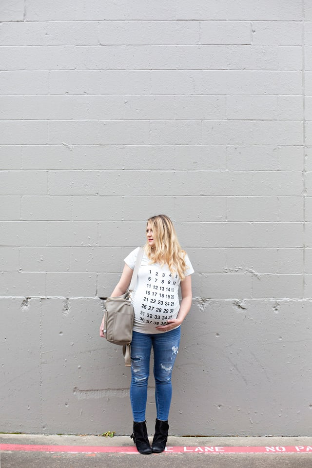 Countdown Maternity Tee | See Kate Sew