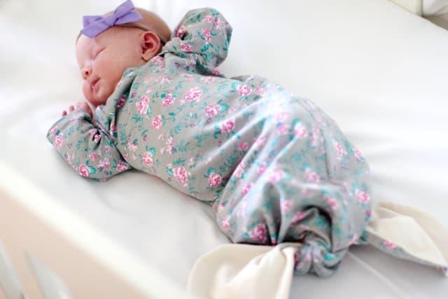 Mermaid Baby Gown Tutorial Owlet Smart Sock