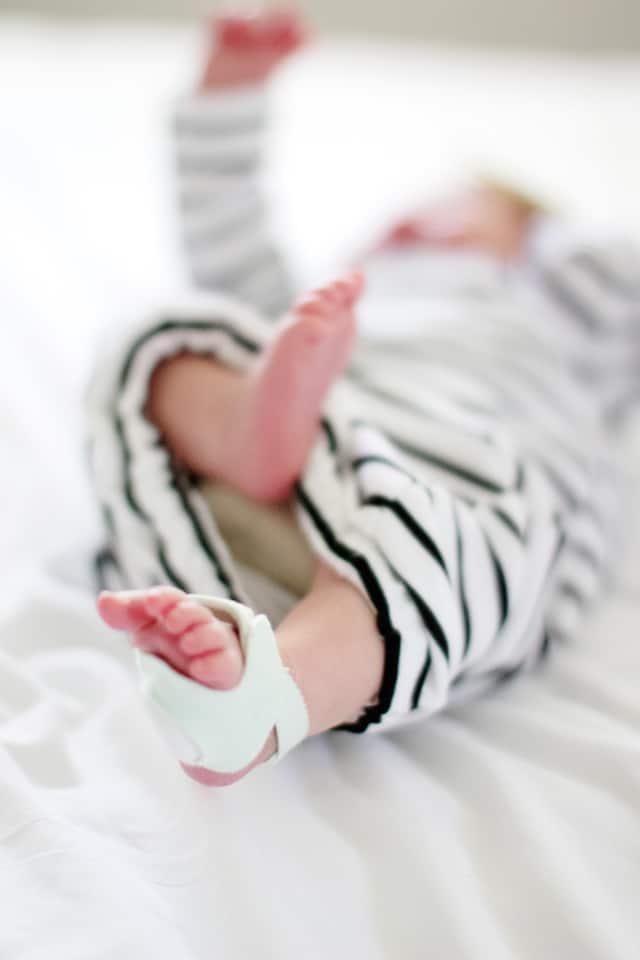 Mermaid Baby Gown Tutorial Owlet Smart Sock Promo see