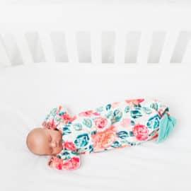 Mermaid Baby Gown Tutorial + Owlet Smart Sock Promo