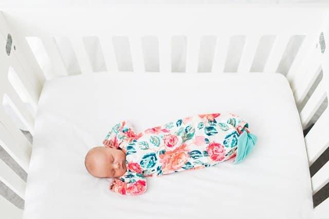Mermaid Baby Gown Tutorial + Owlet Smart Sock Review - see kate sew