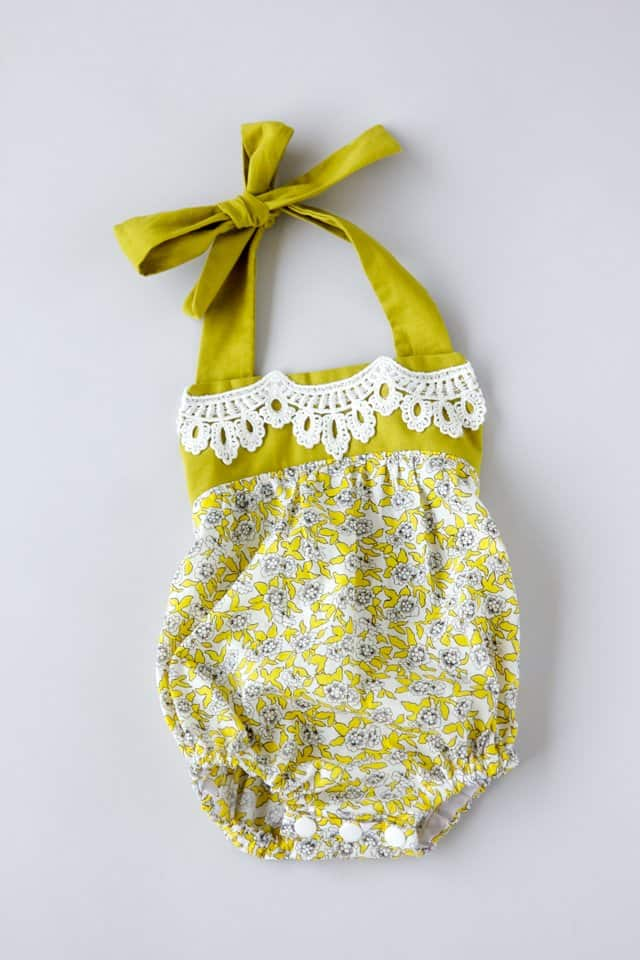 Boho Baby Romper Pattern See Kate Sew