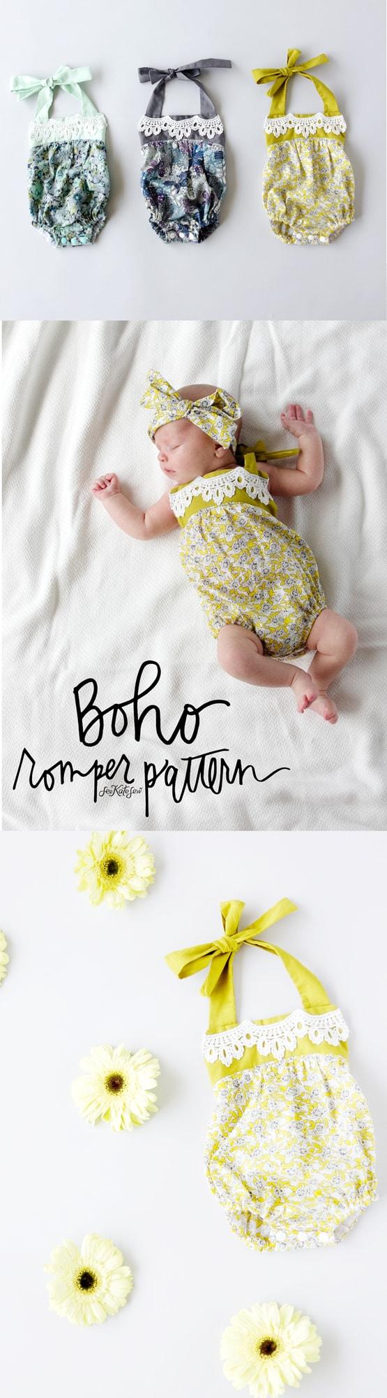 Boho Romper Pattern | See Kate Sew