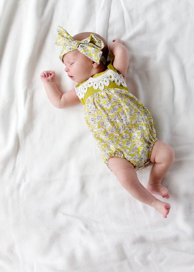 Boho Baby Girl Romper