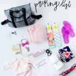 Hospital Bag Packing List Printable