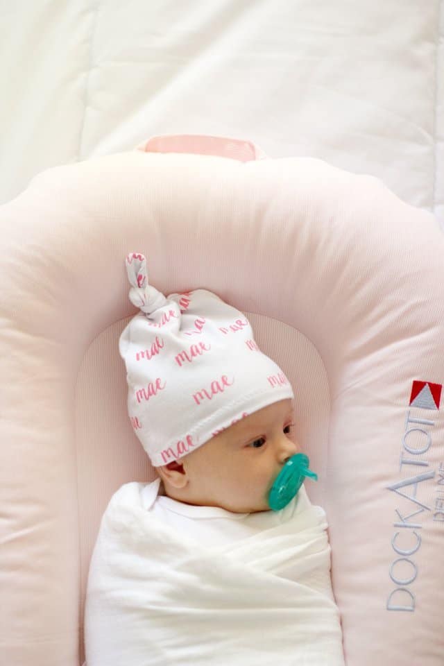Knotted Baby Hat + DockATot Giveaway!