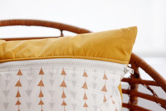 Easy Tassel Pillow Tutorial | See Kate Sew