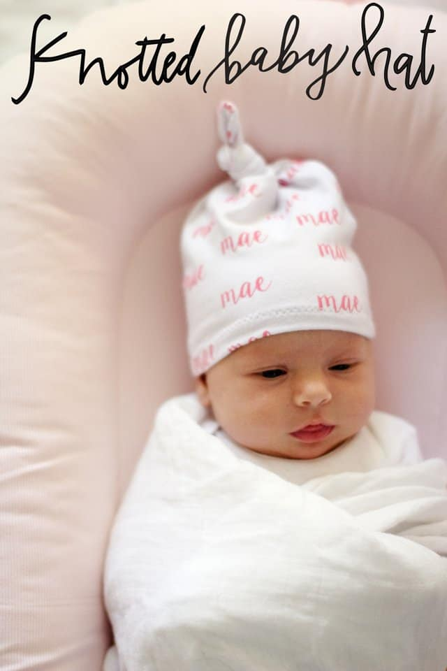 Knotted Baby Hat + DockATot Giveaway! | Knotted Baby Hat | DIY Baby | DIY Baby Hat | DIY Knotted Baby Hat | DIY Baby Tutorials | See Kate Sew #diybabyhat #knottedbabyhat #babyhattutorial #seekatesew