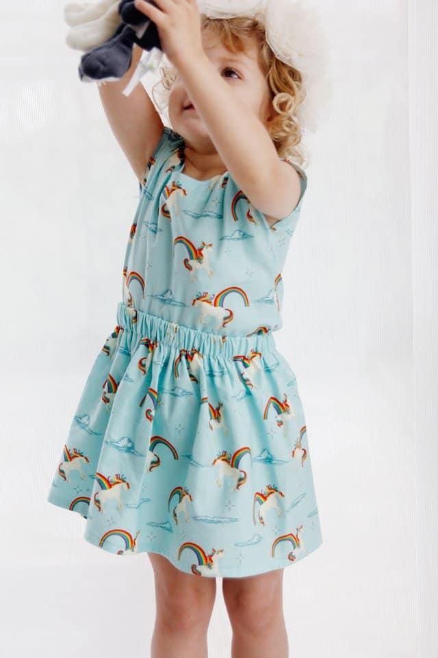 Unicorn Fabric 2-Piece Set | See Kate Sew