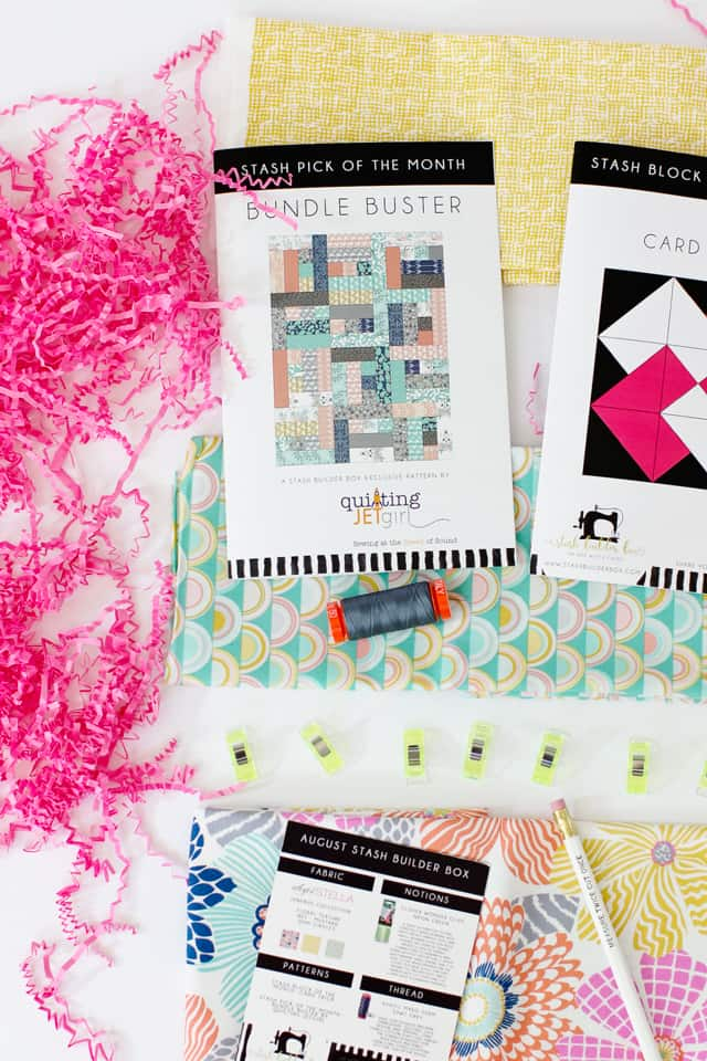 Stash Builder Box August Reveal! | See Kate Sew