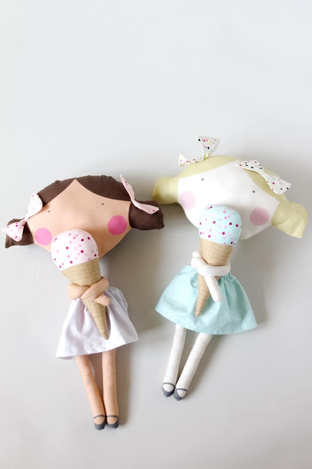 See Kate Sew Doll Fabric | Cut and Sew Fabric Panel!