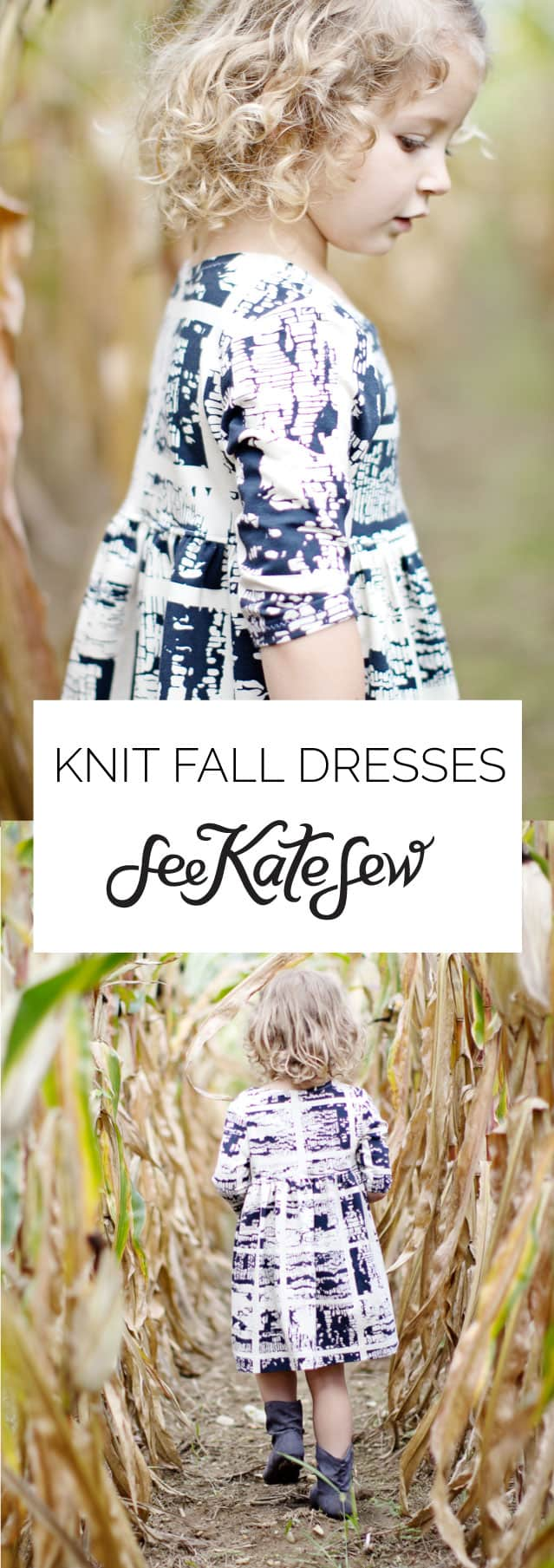 Knit Fall Dresses|See Kate Sew