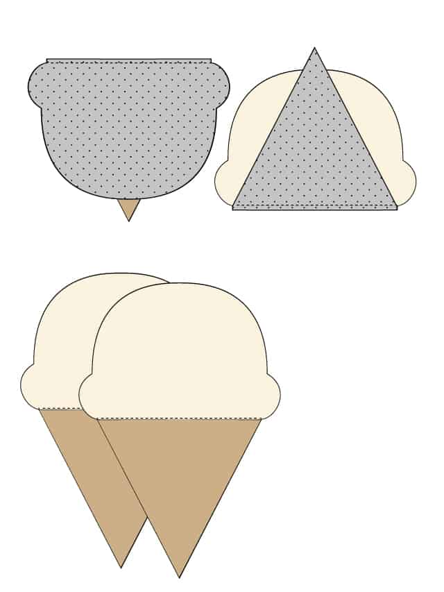 Ice Cream Pillow FREE Pattern | fun sewing projects for kids | pillow sewing tutorials | fun pillow ideas | DIY pillow tutorials | how to sew an ice cream pillow | kid friendly sewing projects || See Kate Sew