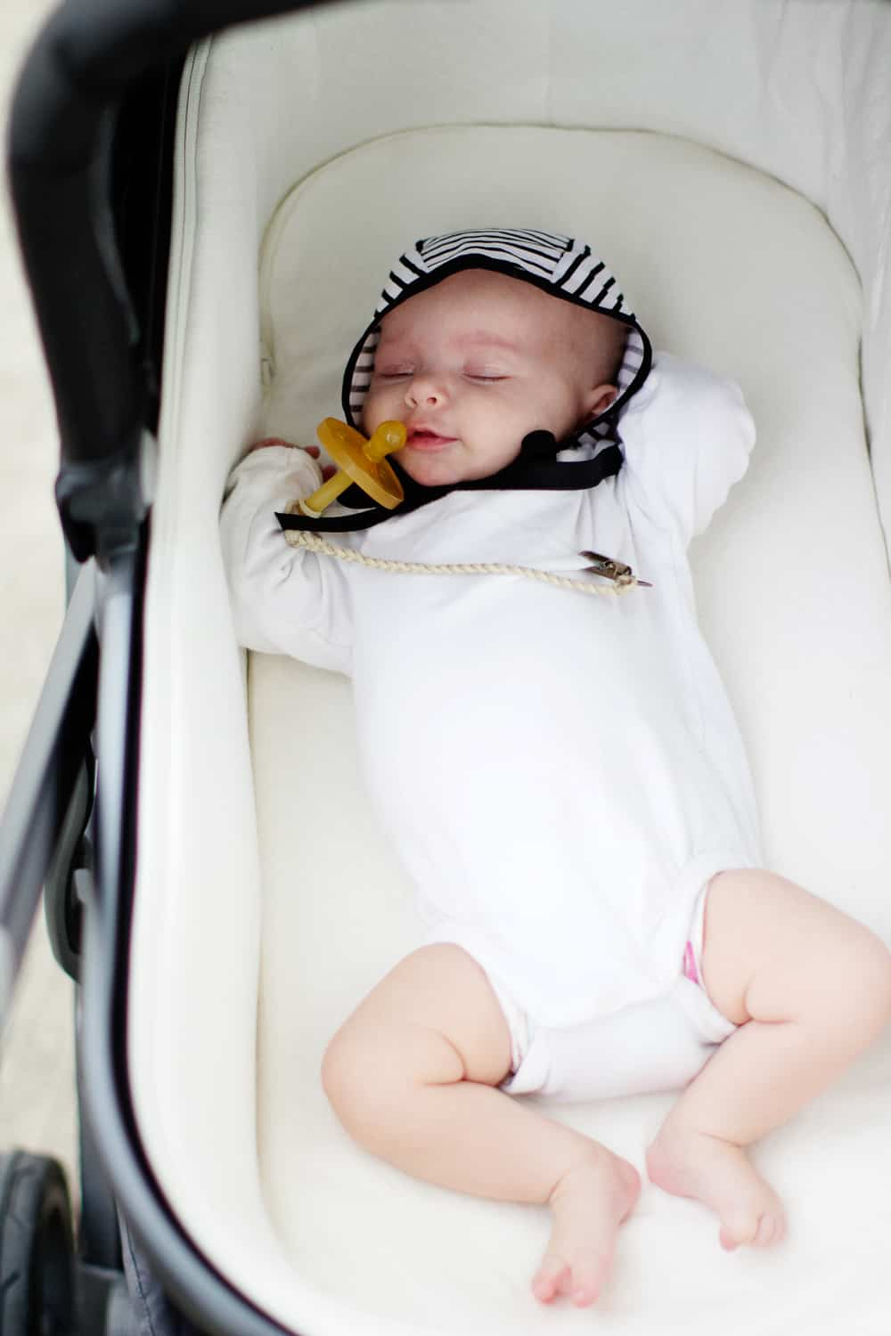 Braided Leather Pacifier Clips Uppababy Vista Review