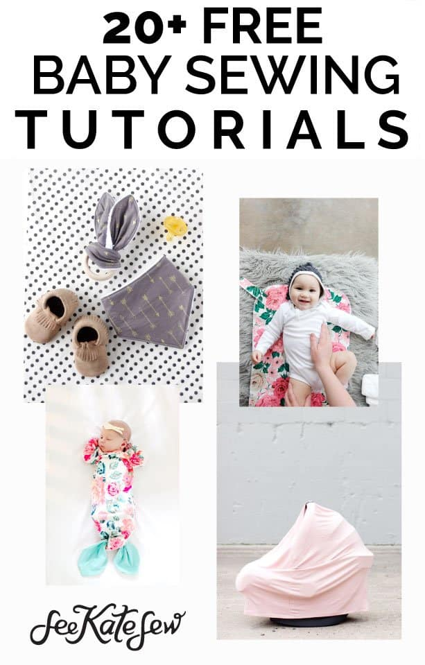 20+ Free Baby Sewing Tutorials|See Kate Sew