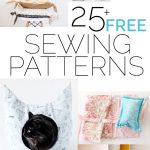 25 Free Sewing Patterns
