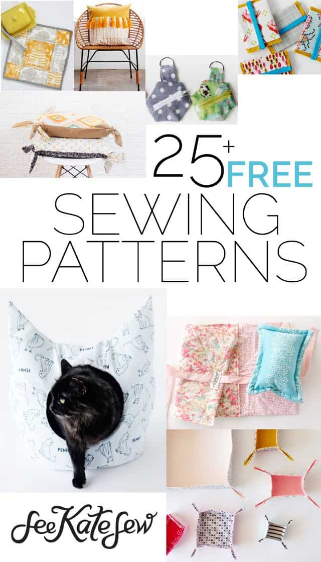 25+ FREE Sewing Patterns - See Kate Sew