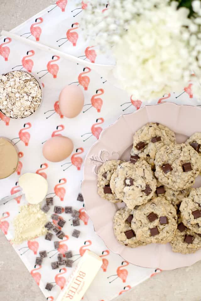 Oatmeal Chocolate Chunk Cookies | See Kate Sew