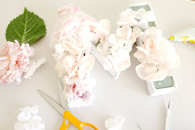 Floral Monogram DIY | See Kate Sew