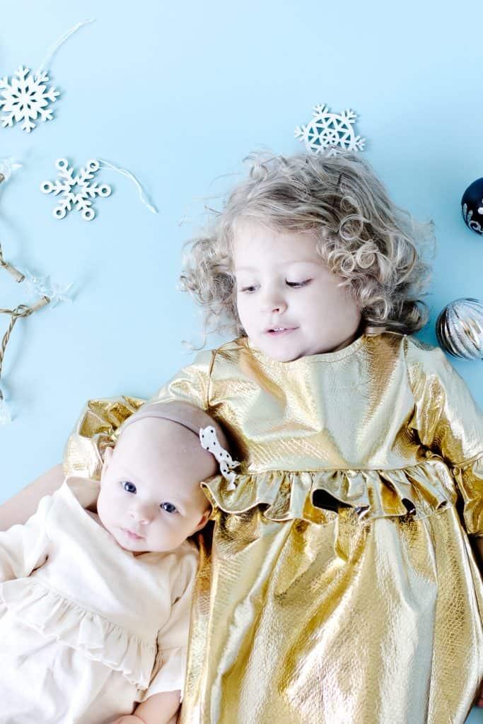 Girl's Holiday Ruffle Dress Tutorial | christmas dress tutorials | how to sew a girls christmas dress | free sewing tutorials | sewing tips and tricks | holiday dresses for girls || see kate sew #holidaydresses #diychristmasdress