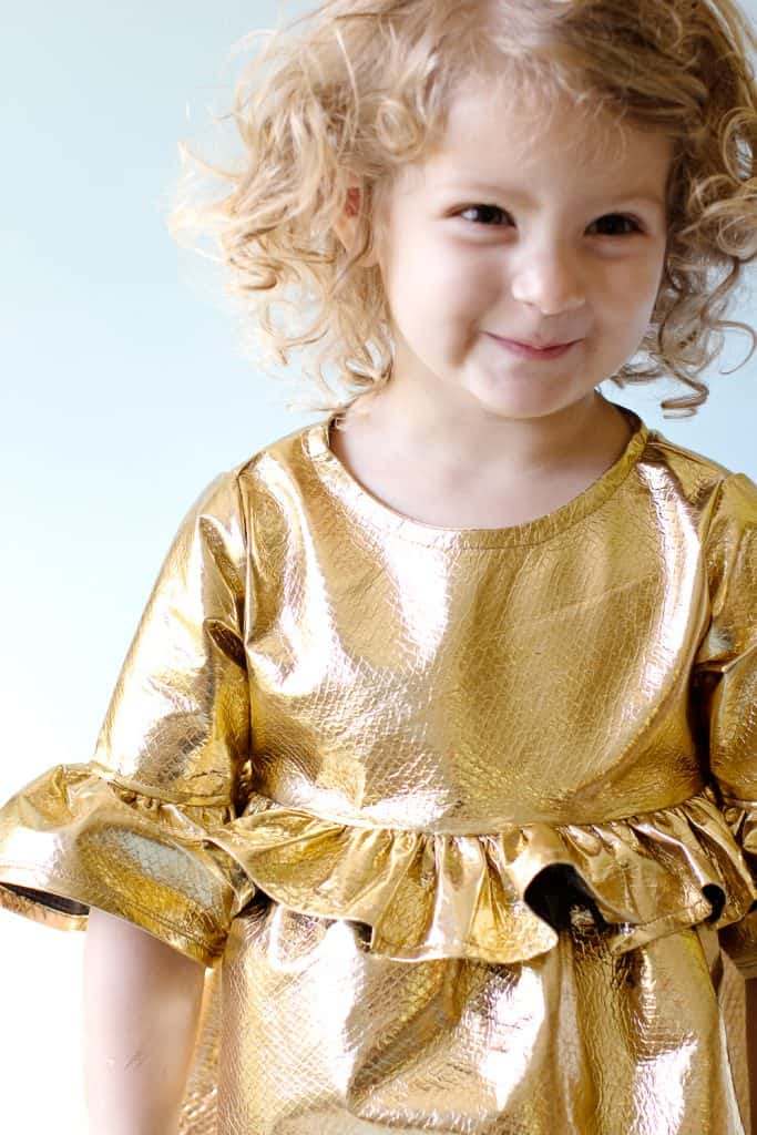 Girl's Holiday Dress Tutorial | See Kate Sew