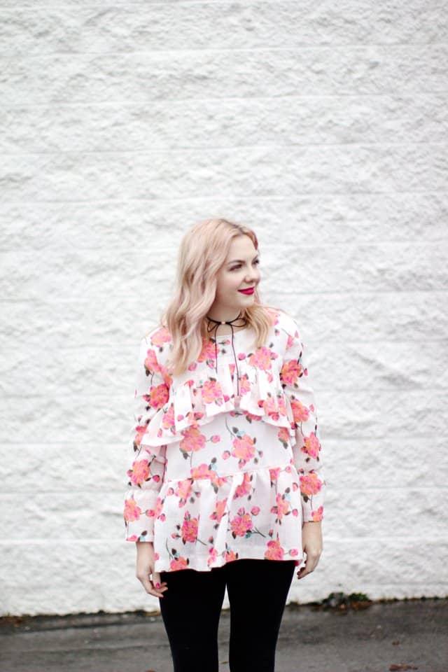 BOHO RUFFLE BLOUSE {free} pattern | See Kate Sew