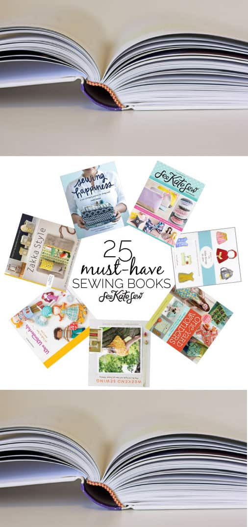 Must-Have Sewing Books | See Kate Sew