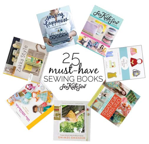 25 Must-Have Sewing Books | sewing tips and tricks | learning to sewing | sewing tips for beginners | sewing books || See Kate Sew #sewingtips #beginnersewist #learningtosew