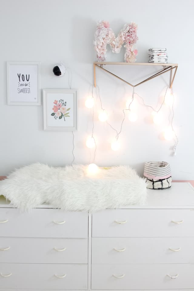 Little Girl's Room Makeover | how to decorate a girl's room | girlie room makeover | feminine room makeover | girl room decor | kids bedroom decor ideas || See Kate Sew #girlsroomdecor #kidsbedroomideas