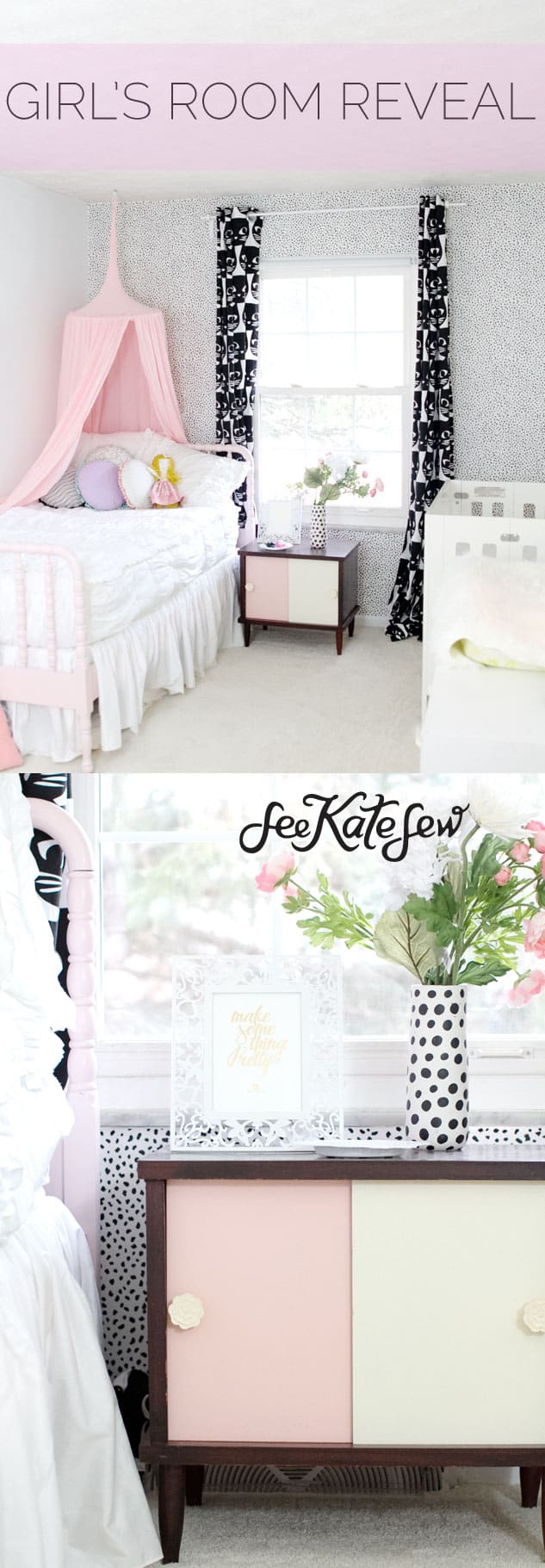 Girl's Room Tour | See Kate Sew