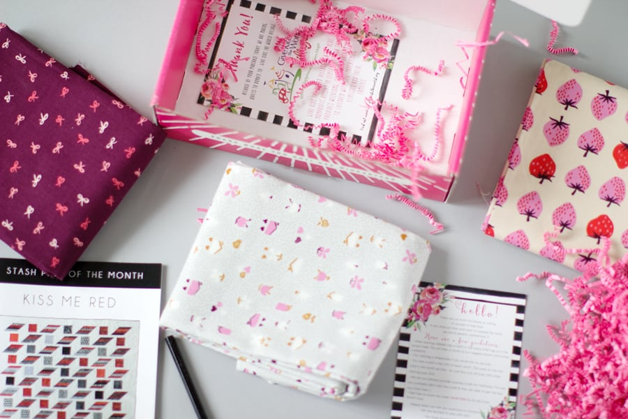 Stash Builder Box - The Sewing Subscription Box | See Kate Sew