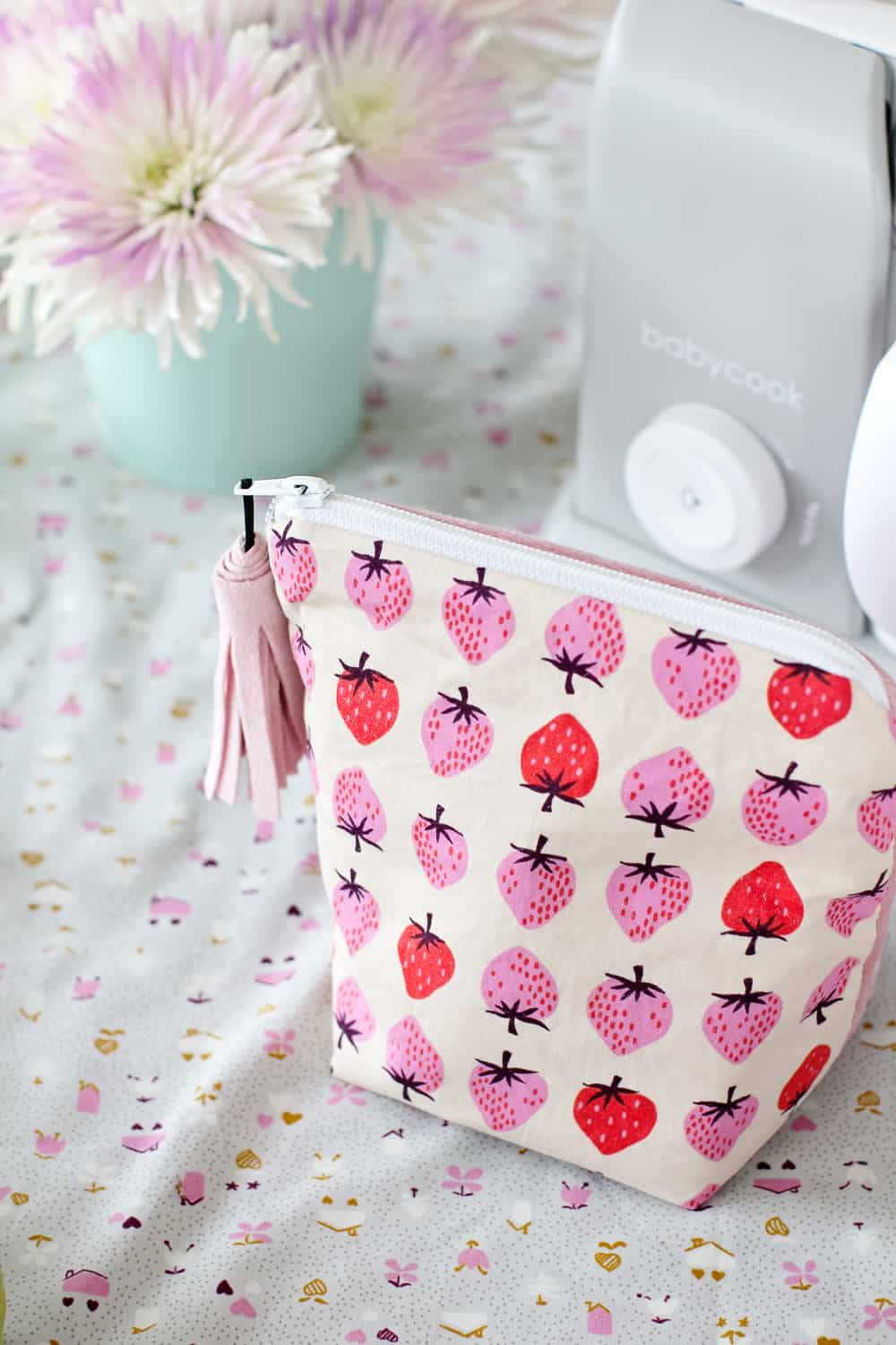 Beaba Babycook Review + Baby Food Recipes | diy lunch box pattern | diy lunchbox | how to sew a lunchbox | lunch bag pattern | lunch bag tutorial || See Kate Sew #lunchbag #diysewing #sewingtutorial