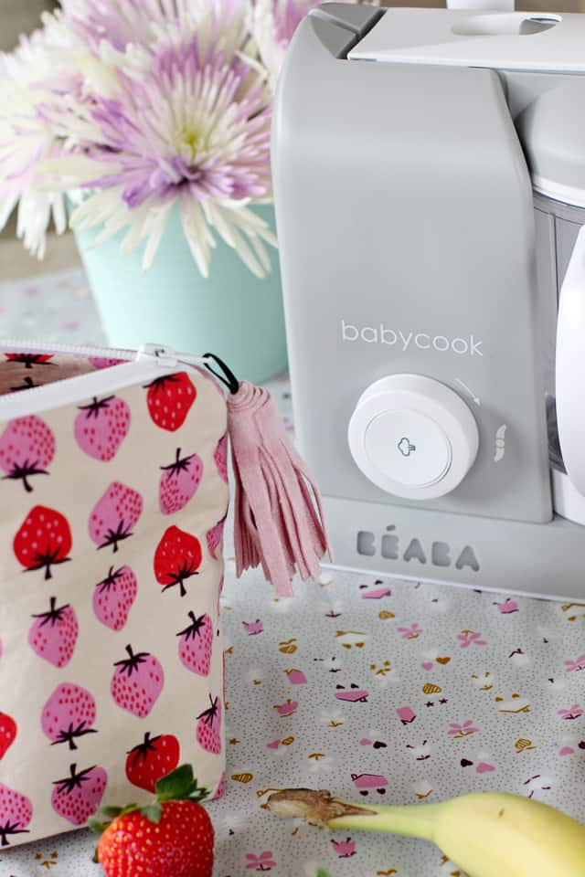 Beaba Babycook Review + Baby Food Recipes | See Kate Sew