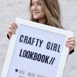 CRAFTY GIRL LOOK BOOK LAUNCH! + the ROSA TOP!