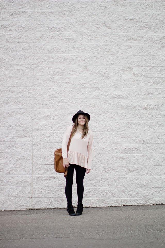 the ROSA peplum top | See Kate Sew