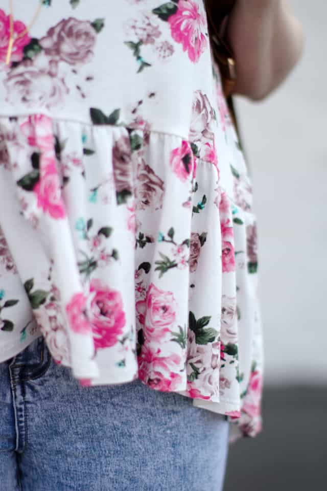 the ROSA top PDF pattern $14 | See Kate Sew
