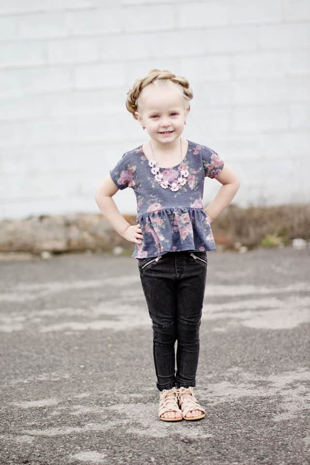 the ROSIE TOP sewing pattern | See Kate Sew