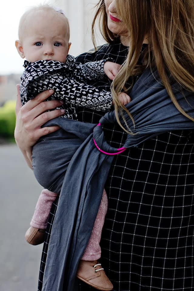 How to Sew a Ring Sling | Baby Sewing Projects