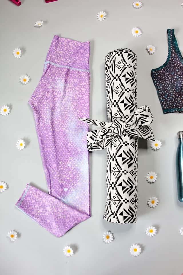 Diy Yoga Mat With Teeki See Kate Sew